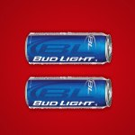 Bud Light red marriage equality symbol
