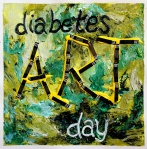 diabetes art day logo lee ann thill art therapy