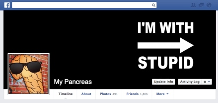 if my pancreas were on social media facebook diabetes
