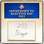 obama's re election countdown on instagram